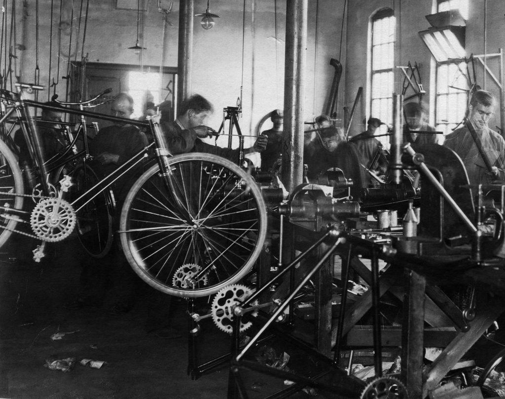 rijwiel fabricage